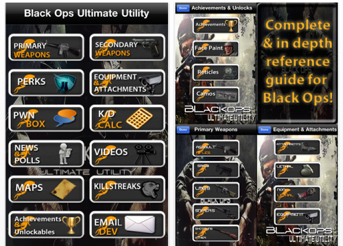 Black Ops Guns And Perks. Black Ops Ultimate Utility – A