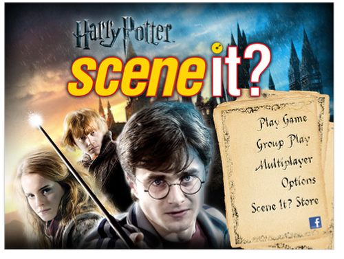 harry potter logo png. Scene It? Harry Potter HD