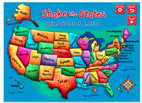 Ammcobus || 50 states games for kids on