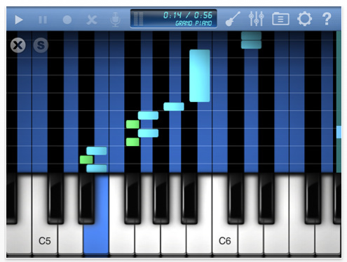 Top 10 Piano Apps For iPad - 02/22/11 - TheAppWhisperer