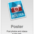Poster is an application for posting photos and video to the web. Poster can send photos and videos to Flickr, SmugMug and Facebook walls and photos to Facebook pages. Poster […]