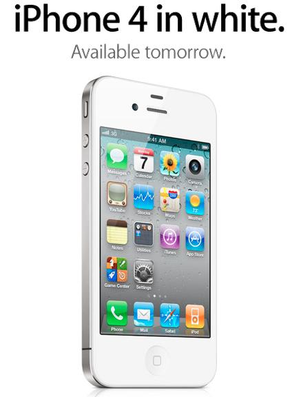 iphone 4 white singapore. White iPhone 4 will