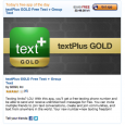 Break away from your mobile carrier's texting limitations and keep an open dialogue with your friends–for free. GOGII, the makers of TextPlus Gold, believe in the importance of staying connected […]