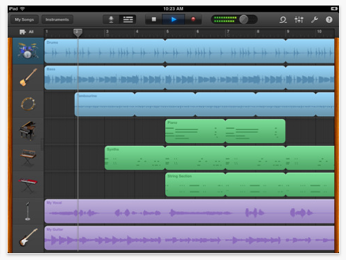 garageband for ipad your questions answered theappwhisperer. Black Bedroom Furniture Sets. Home Design Ideas