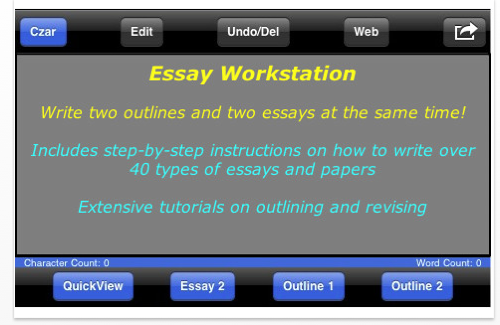 essay writing workstation Last minute essay writing guide for students from perfectessaycom how to write a last-minute essay sometimes students get caught up by time, and he/she is forced to write an essay uncomfortably quickly to meet the deadline.