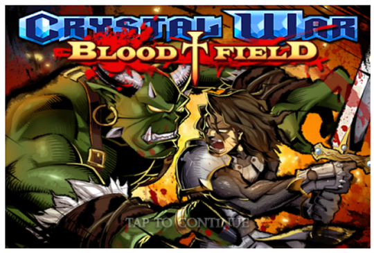 Crystal War Blood Field - iOS App Review - TheAppWhisperer