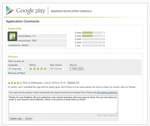 developers have their say in the google play store theappwhisperer