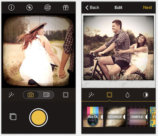 Reflex Vintage Camera And Photo Editor For Instagram Free Today