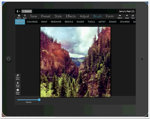 iPad Video Tutorial - iColorama Settings: Continuous Brushing by Jerry Jobe - TheAppWhisperer