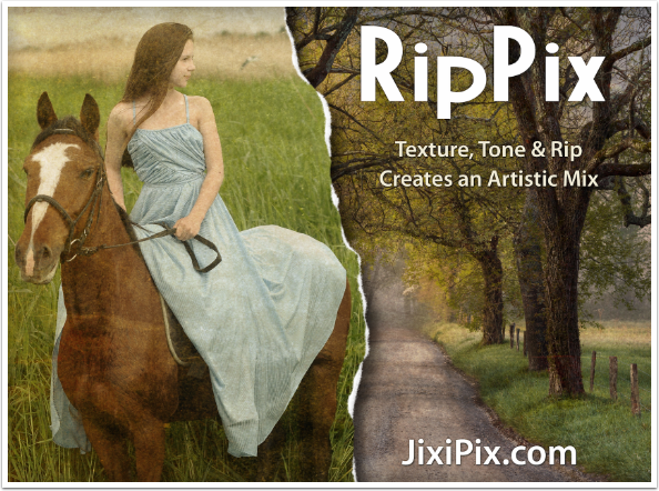 Mobile Photography/Art Tutorial - RipPix: Tear your Art to Shreds - TheAppWhisperer
