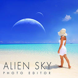 Download Alien Sky App Here!