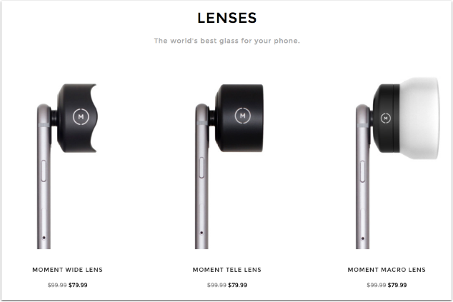 Moment Lens Sale - 20% off Everything!