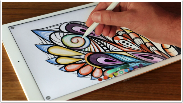 Pigment - A New Adult Colouring App by Pixite - TheAppWhisperer