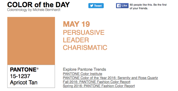 APPart – Mobile Art – Pantone Color of the Day – 'Apricot Tan' – TheAppWhisperer