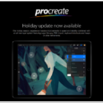 Just in time for Christmas and what a wonderful gift to us all from the developers, Savage Interactive, of Procreate – one of the very best apps for all mobile […]
