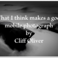 TrueView Interviews, it's where we ask one singular question, to mobile photographers and artists and it is captured to video. This time we asked Dr Cliff Oliver from California, 'What […]