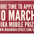 The deadline for the prestigious Mobile MIRA Prize competition has been extended to 10 March 2016. Each year there is a specific theme for the competition, this year it is […]