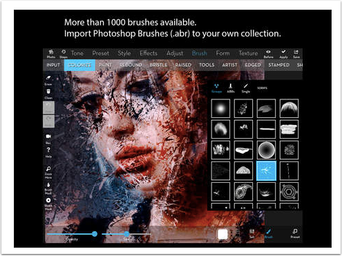 Mobile Photography / Art – iColorama – Photo Editor and Brush Painter – Updated