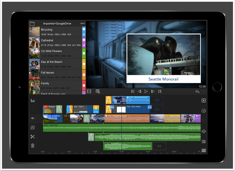 Mobile Photography / Videography – LumaFusion – Updated iOS Videography App Giveaway – worth $19.99/£19.99