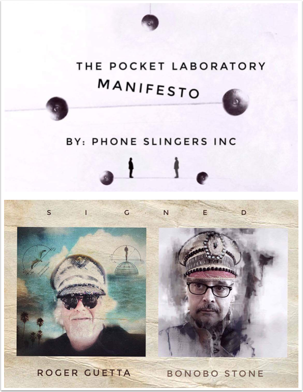 Mobile Photography / Art – The Pocket Laboratory Manifesto with Roger Guetta and Bonobo Stone