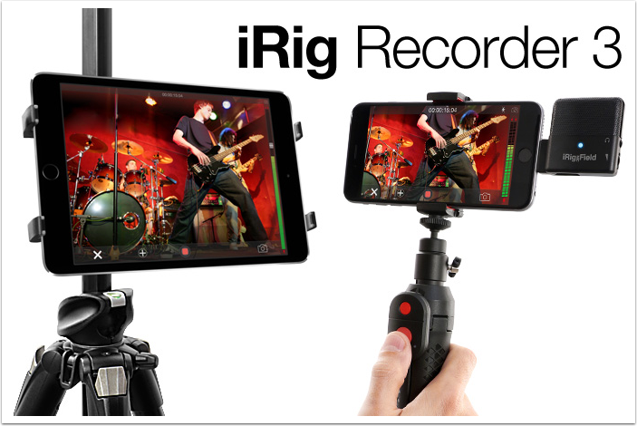 IK Multimedia releases all new iRig Recorder 3 for Android