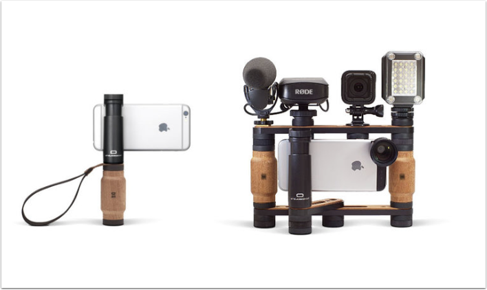 Mobile Photography – SHOULDERPOD Goes Fully Modular