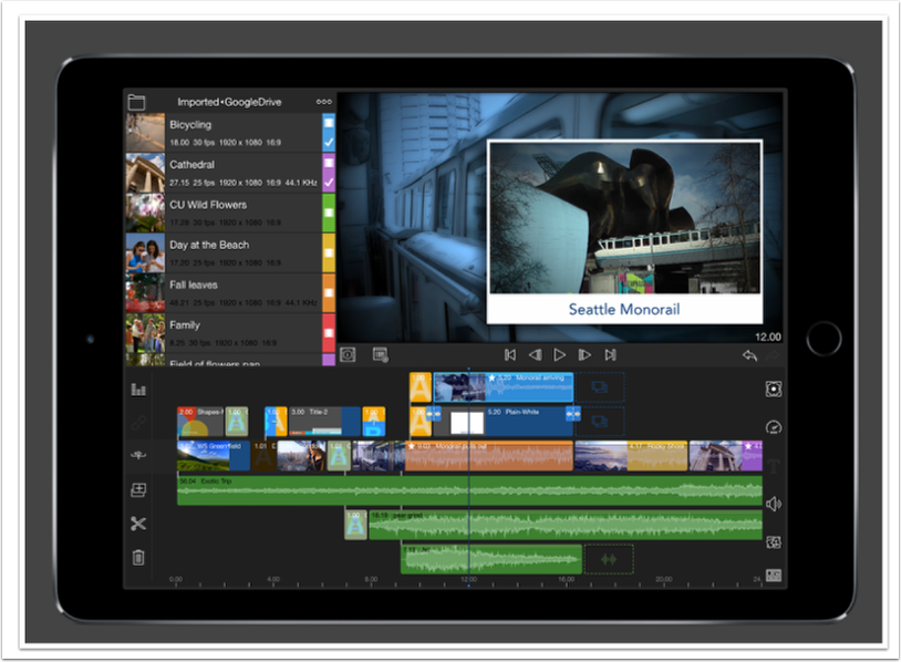 Mobile Photography / Videography – LumaFusion Pro – Updated iOS Videography App Giveaway – worth $19.99/£19.99