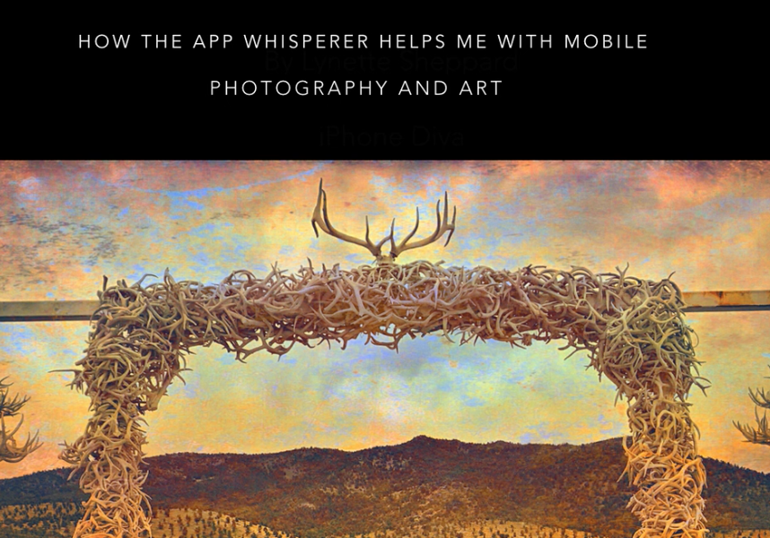 """Mobile Photography – TrueView Interview """"How has TheAppWhisperer helped with Mobile Photography and Art?"""" with Lynette Sheppard from Hawaii, USA"""