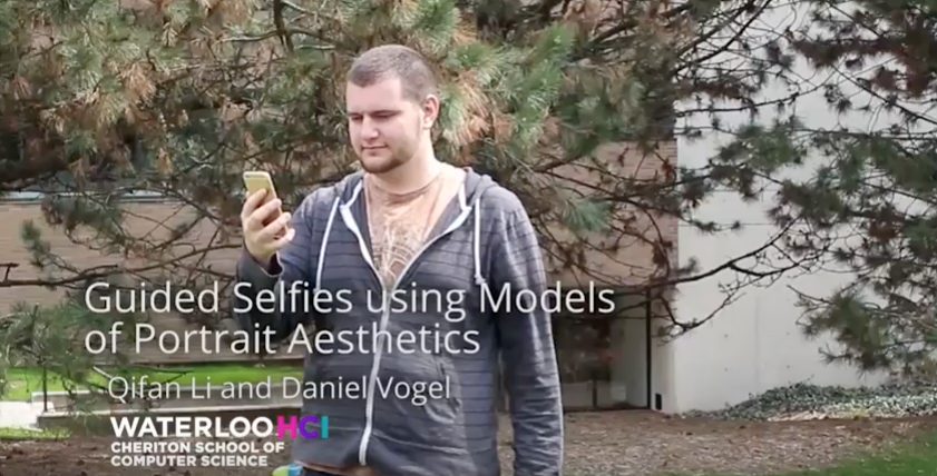 An App For A 'Perfect' Selfie According to University of Waterloo, Canda
