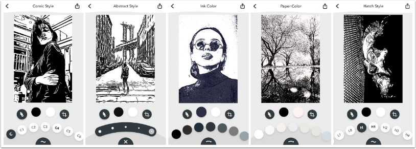 Mobile Photography / Art – App of the Day – Inkwork – Giveaway Today