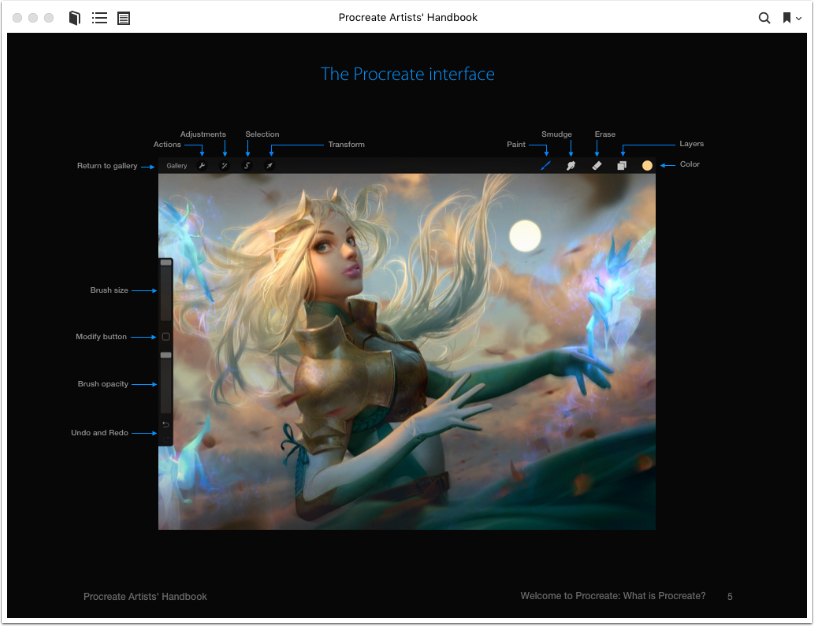 Mobile Photography & Art – Procreate Artists' Handbook Updated for Version 4.0 – Free