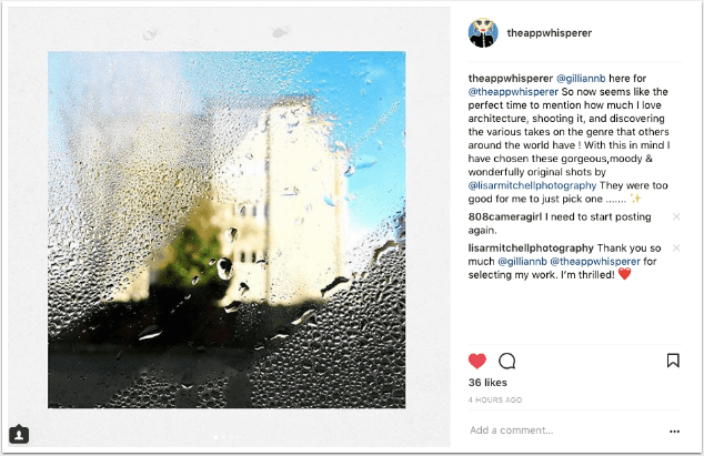 Mobile Photography – Instagram TAKEOVER with @gilliannb – Gillian Brodie – Day 3