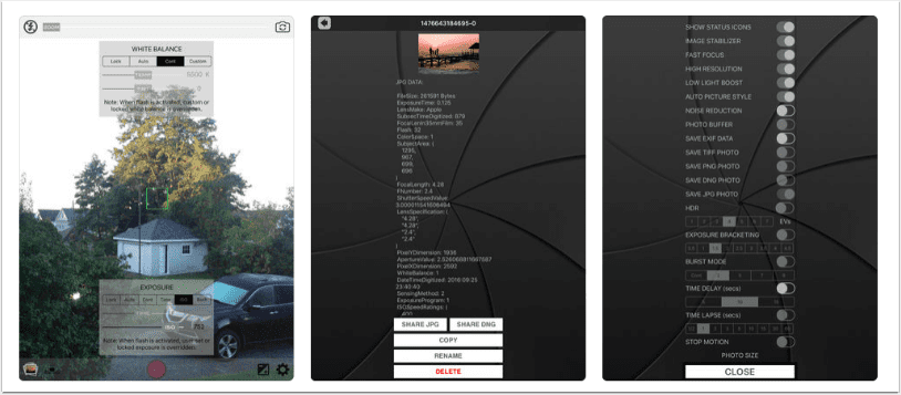 Mobile Photography – App of the Day – Raw! Photo Pro – Advanced DNG Camera Giveaway Today Again!