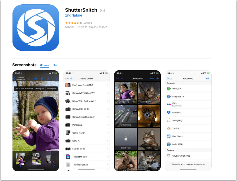 Mobile Photography – App of the Day – ShutterSnitch with In-App Purchases – Each Giveaway Worth $31.99!