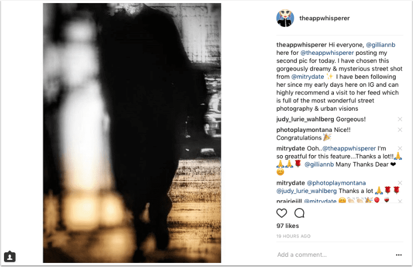 Mobile Photography – Instagram TAKEOVER with @gilliannb – Gillian Brodie – Day 4