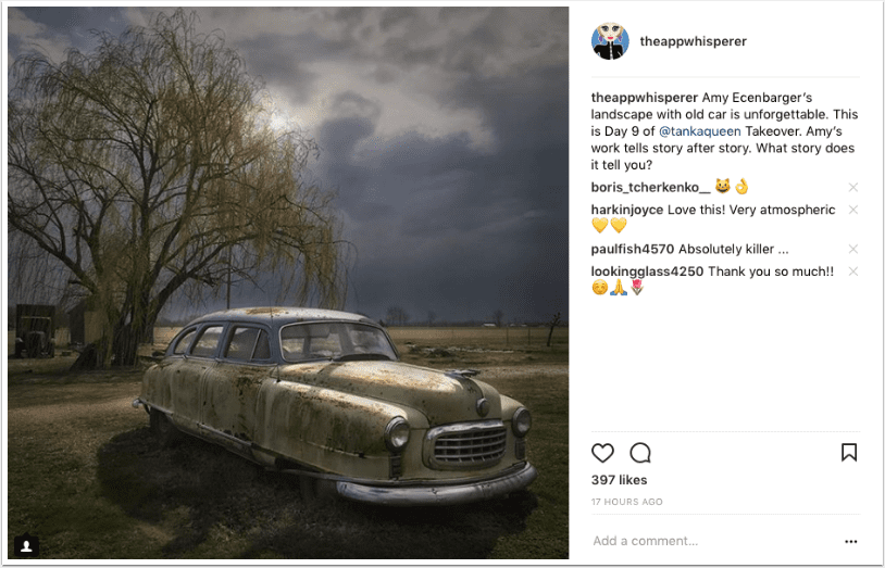 Mobile Photography – Instagram TAKEOVER with @tankaqueen – Day 9