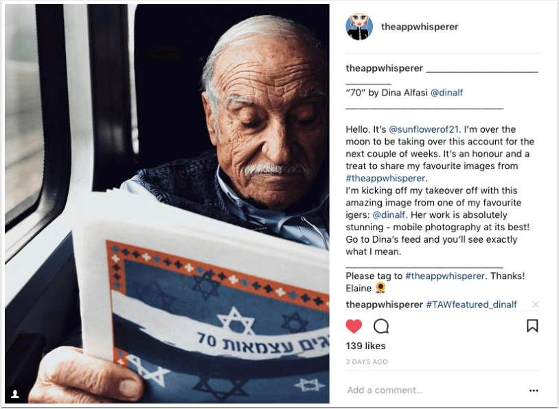 Mobile Photography – Instagram TAKEOVER with @sunflowerof 21 - Days 1 - 4 - TheAppWhisperer