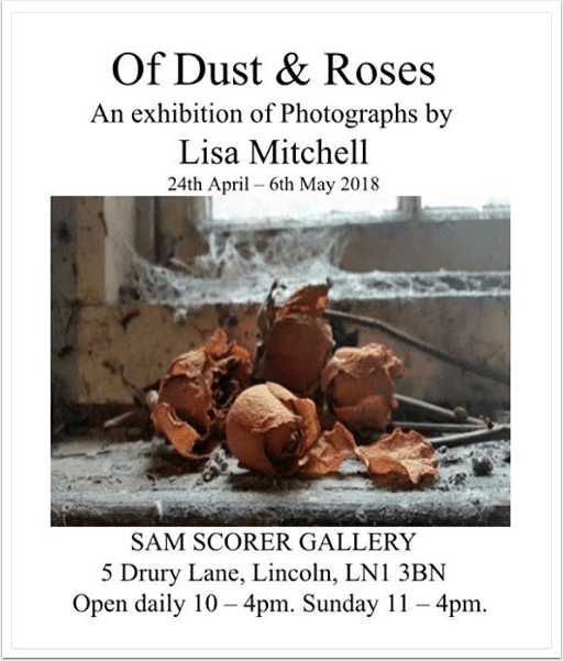 Mob-Entrepreneurs – Mobile Photograhy Exhibition – 'Of Dust & Rose by Lisa Mitchell'