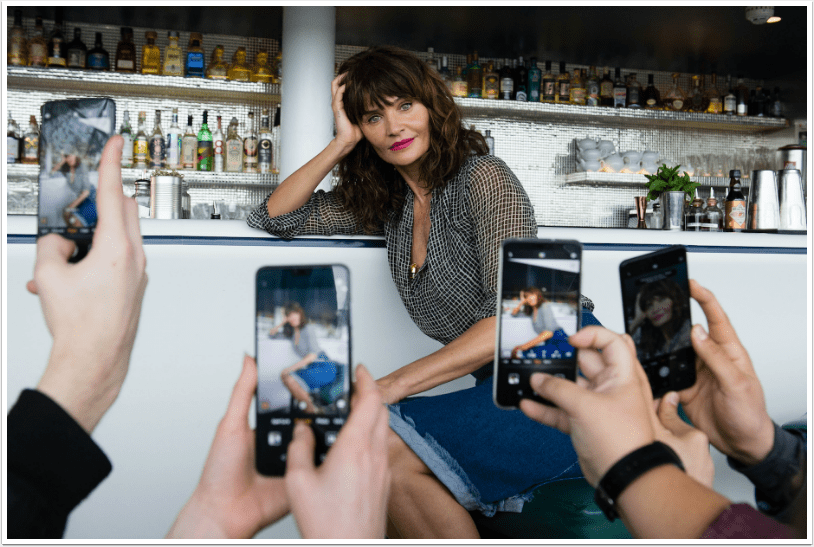 Mobile Photography – Helena Christensen Makes 'Surprise' Appearance During Huawei P20 Pro Photography Masterclass in London