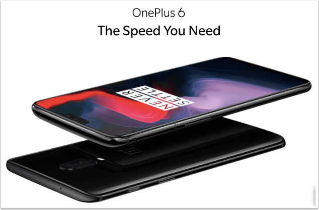 OnePlus today announced its latest premium flagship device, the OnePlus 6