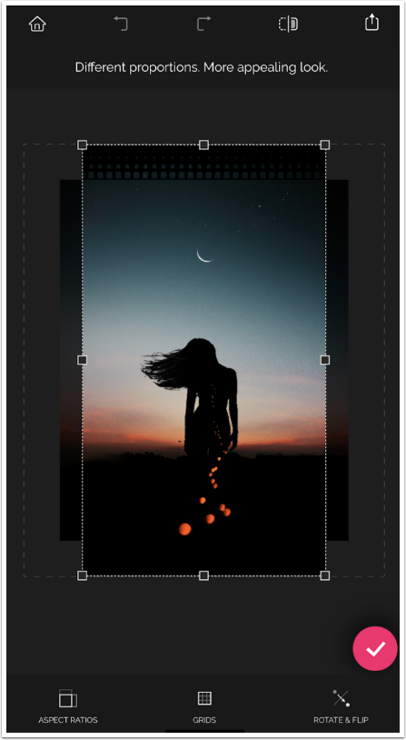 Mobile Photography – App of the Day Recrop (previously known as AntiCrop) by TouchRetouch Developers ADVA Soft