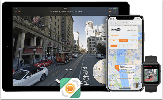 Streets 4.0: Street View App Adds Drag and Drop and Live Panorama Mode