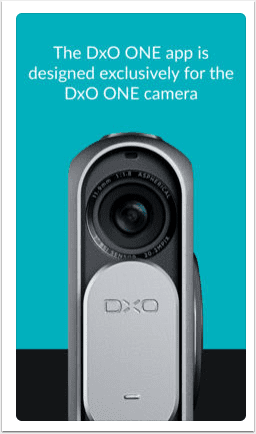 DxO One App Updated