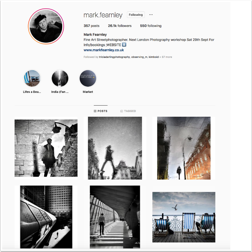 Instagram TakeOver with Mark Fearnley @mark.fearnley from London, UK