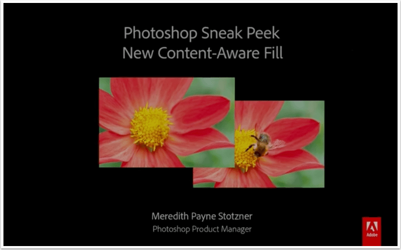 NEWS: Photoshop CC Sneak Preview: A New Content Aware Fill Coming Soon