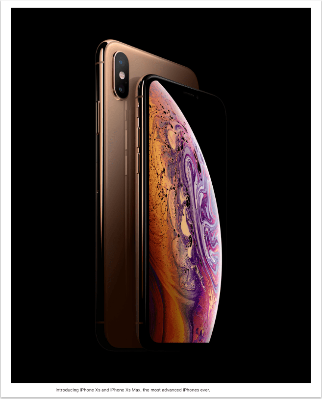 Apple iPhone Xs and iPhone Xs Max bring the best and biggest displays to iPhone
