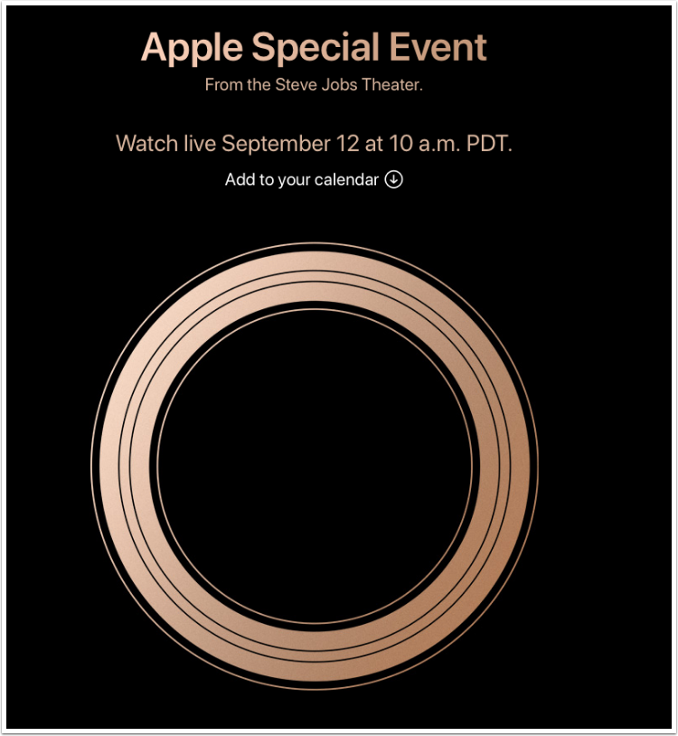 Apple Event Live Coverage Today – Three New OLED iPhones? New Apple Watch? Lots of Excitement – Yes – Confirmed
