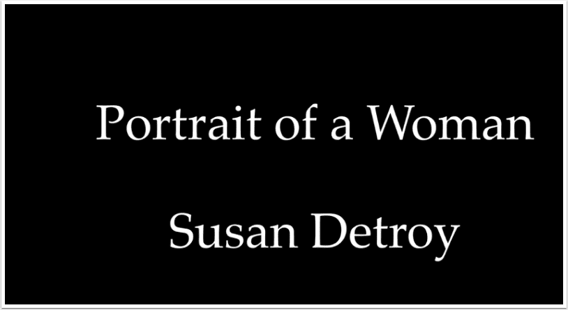 Mobile Photography Women – Talking Points – Portrait of a Woman with Susan Detroy