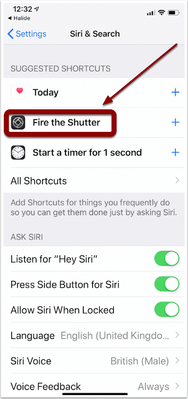 Mobile Photography & Art – Tip of the Day – Tell Siri To Fire The Shutter Button