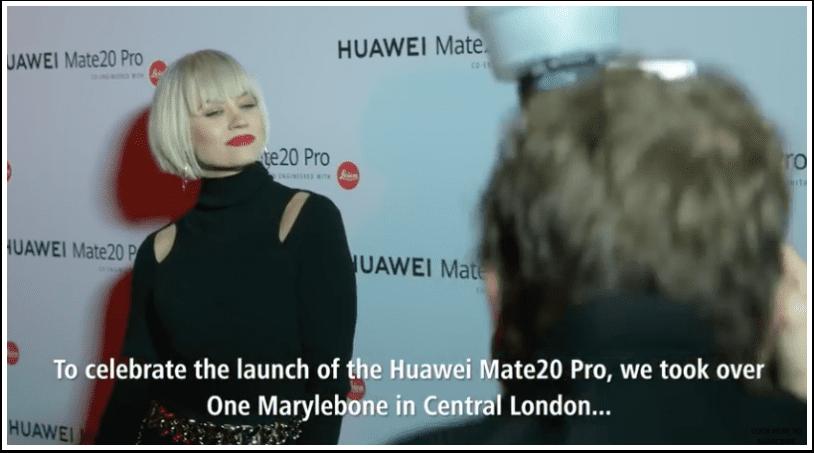 Huawei Mate20 Pro Celebration in London